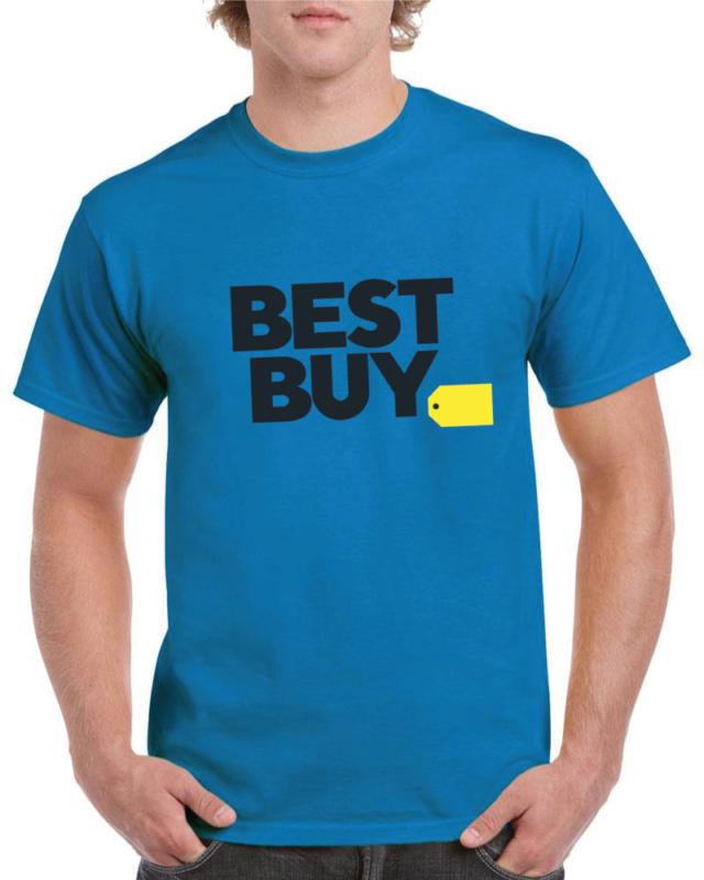 t-shirt med tryck, blå, storsäljare